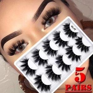 🔥🔥 Mink False Lashes 4DFaux 5 Pair🔥🔥